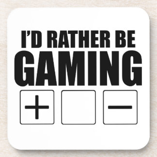 Rather Be Gaming (FATE) Beverage Coaster