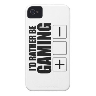 Rather Be Gaming (FATE) iPhone 4 Case-Mate Case