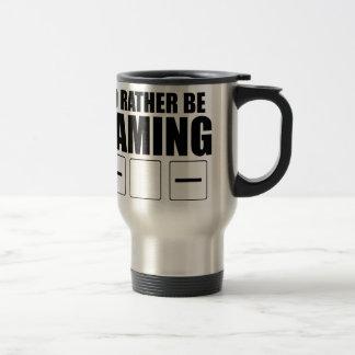 Rather Be Gaming (FATE) Travel Mug