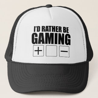 Rather Be Gaming (FATE) Trucker Hat