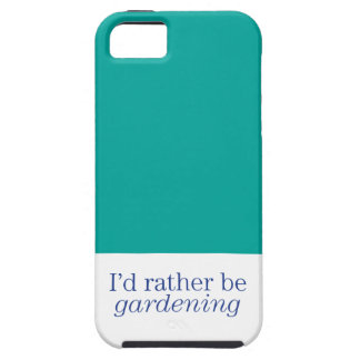 Rather Be Gardening iPhone SE/5/5s Case