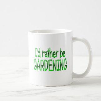 Rather be Gardening Coffee Mugs