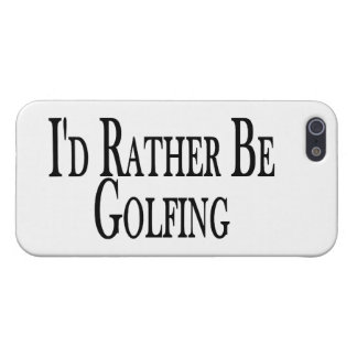 Rather Be Golfing iPhone SE/5/5s Case