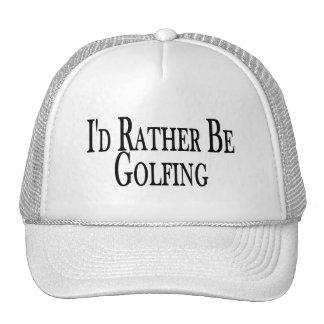 Rather Be Golfing Trucker Hat