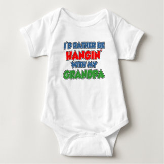 Rather Be Hanging With Grandpa Shirt