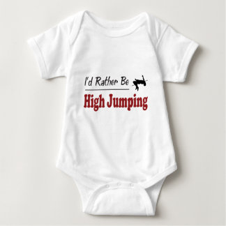 Rather Be High Jumping Baby Bodysuit