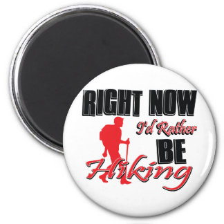 Rather be Hiking 2 Inch Round Magnet