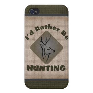 Rather Be Hunting Deer Hunter iPhone 4 Cover