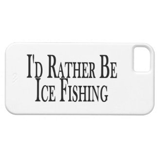 Rather Be Ice Fishing iPhone SE/5/5s Case