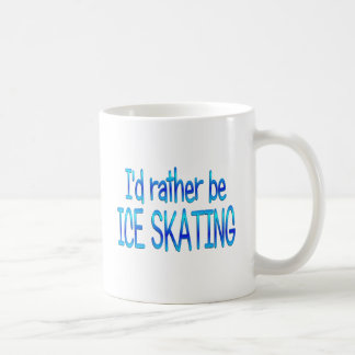 Rather be Ice Skating Mug