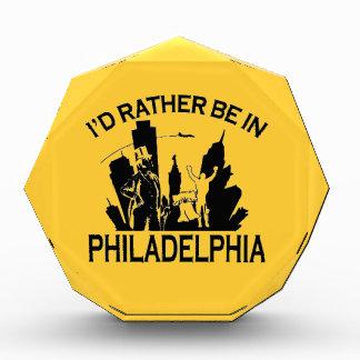 Rather be in Philadelphia Acrylic Octagon Award