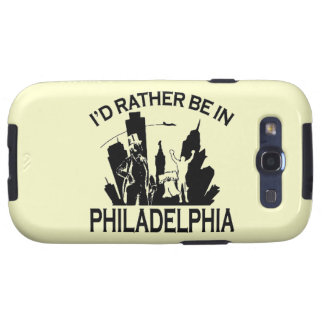 Rather be in Philadelphia Samsung Galaxy S3 Case