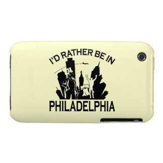Rather be in Philadelphia iPhone 3/3gs Case