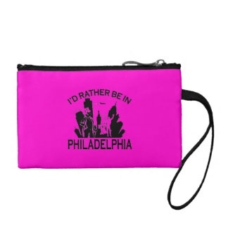 Rather be in Philadelphia Key Coin Clutch