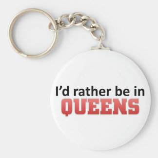 Rather be in Queens Key Chain