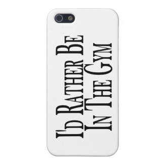 Rather Be In the Gym Case For iPhone SE/5/5s