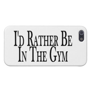 Rather Be In the Gym iPhone SE/5/5s Cover