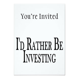 Rather Be Investing Card