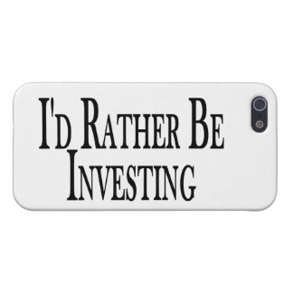 Rather Be Investing Cover For iPhone SE/5/5s