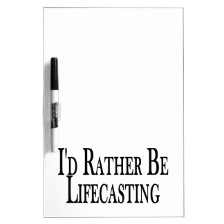 Rather Be Lifecasting Dry-Erase Board
