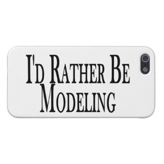 Rather Be Modeling Cover For iPhone SE/5/5s
