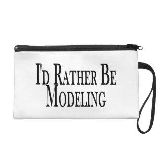 Rather Be Modeling Wristlet