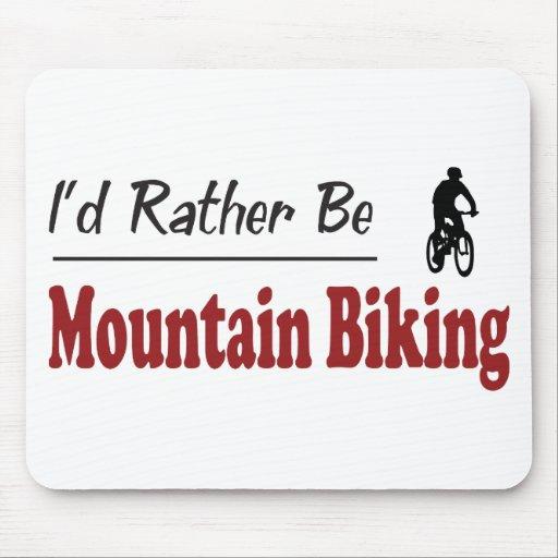 Rather Be Mountain Biking Mouse Mats