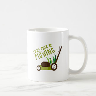 Rather be Mowing Coffee Mug