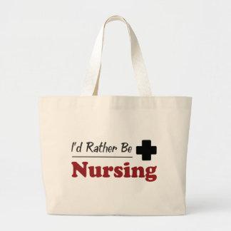 Rather Be Nursing Canvas Bags