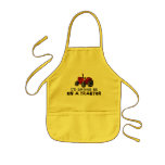 Rather Be On A Tractor Kids' Apron