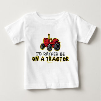 Rather Be On A Tractor Tee Shirt