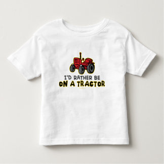 Rather Be On A Tractor Toddler T-shirt