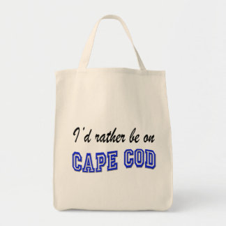 Rather be on Cape Cod Tote Bags