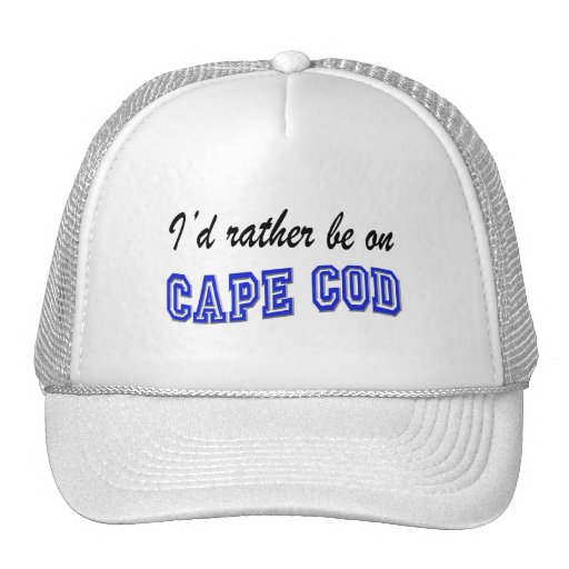 Rather be on Cape Cod Mesh Hats