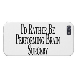 Rather Be Performing Brain Surgery Cover For iPhone SE/5/5s