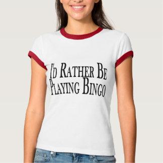 Rather Be Playing Bingo T-Shirt