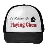 Rather Be Playing Chess Hats