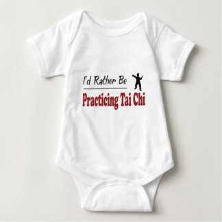 Rather Be Practicing Tai Chi Baby Bodysuit