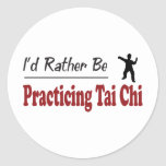 Rather Be Practicing Tai Chi Sticker