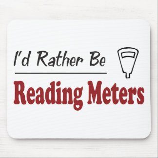 Rather Be Reading Meters Mouse Mat