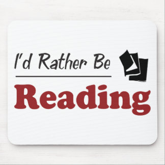 Rather Be Reading Mouse Mat