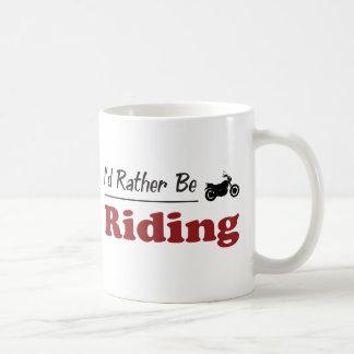 Rather Be Riding Coffee Mug