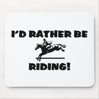 Rather be riding mousepad
