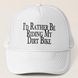 Rather Be Riding My Dirt Bike Trucker Hat