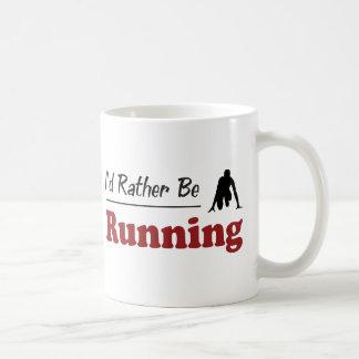 Rather Be Running Coffee Mug