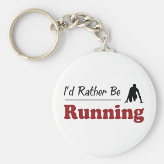 Rather Be Running Keychain