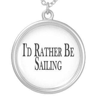 Rather Be Sailing Pendants