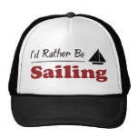 Rather Be Sailing Trucker Hats