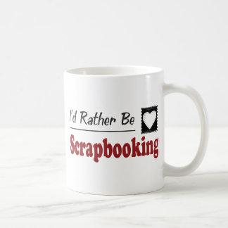 Rather Be Scrapbooking Coffee Mugs