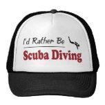 Rather Be Scuba Diving Trucker Hat